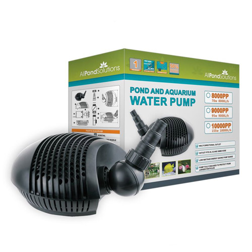 Pond Pump - Full Range