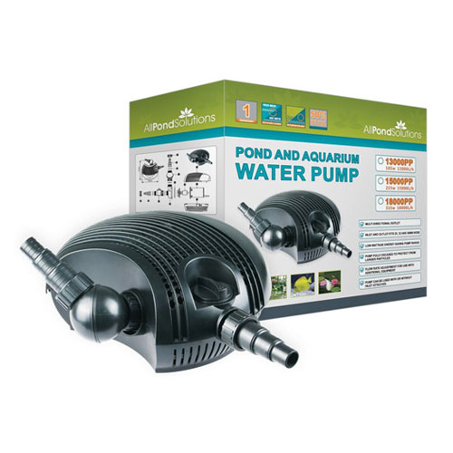 Waterfall & Filter Pumps