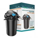 Auto Cleaning Pressurised Pond Filter PFC-20000 with Built-in 18w UV