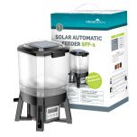 All Pond Solutions Solar Powered Pond Automatic Fish Feeder SFF-1