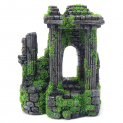 Moss Covered Roman Ruins Column Archway Ornament