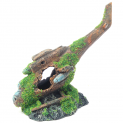 Helicopter Wreck Fish Tank Ornament