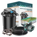 AUTO-PFC-30000 Pressurised Pond Kit - Free Hose & Clips