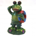 Aquarium Lifeguard Frog Ornament