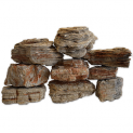 Natural Aquarium Red Sandstone Aquascaping Rock - 20Kg Box