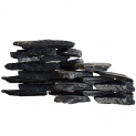 Natural Black Aquarium Aquascaping Slate Rock - 20Kg Box