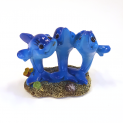 Three Small Dolphins Aquarium Fish Tank Ornament