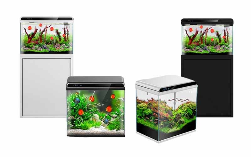 AllPondSolutions New Product - Ultra Clear Glass Nano LED Light Fish Tank