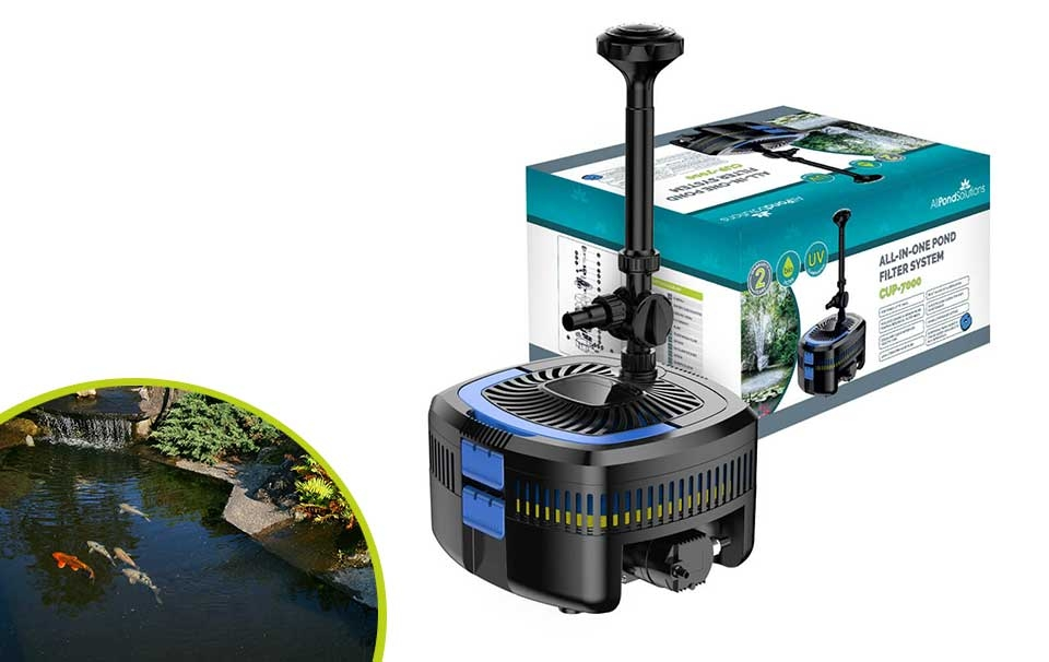 All Pond Solutions UV Steriliser Filter Pump All in One CUP-7000